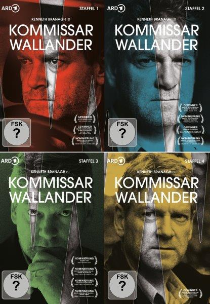 Cover Kommissar Wallander